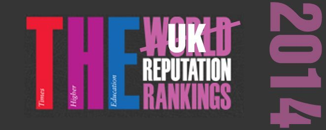 2014 Reputation rankings UK