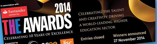 Winners Announced for Times Higher Education Awards 2014