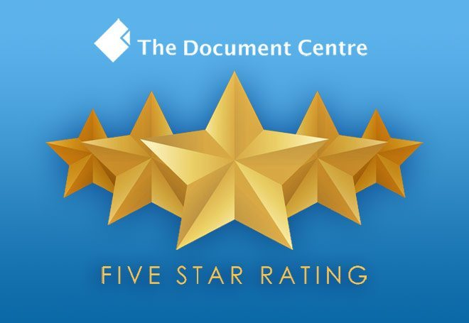 Thesis Binding Services Consistently Rated 5 Stars
