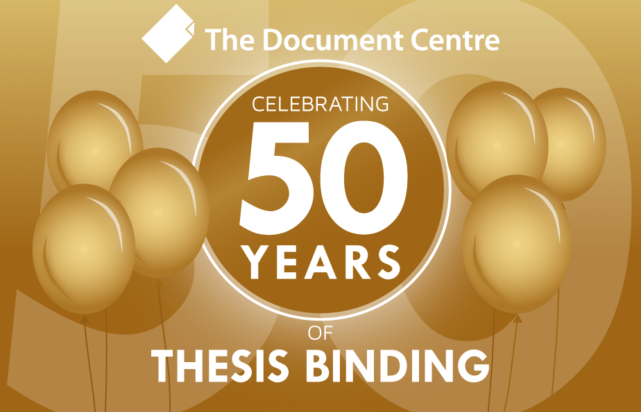 50 Years of Professional Printing & Document Binding