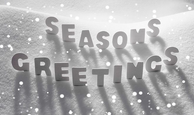 Seasons Greetings to Everyone!
