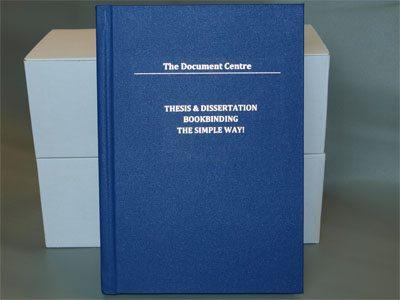 dissertation binding wc1