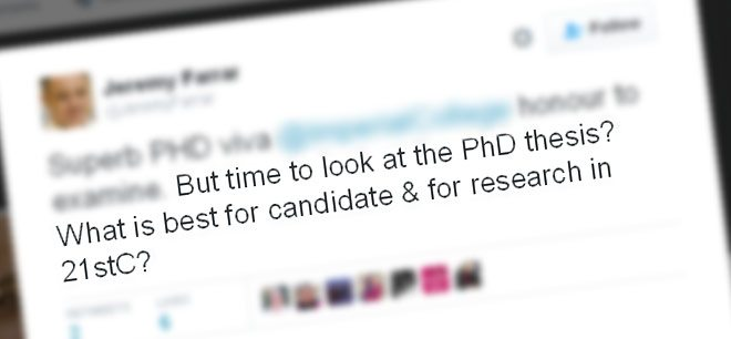 Time to re-think the traditional doctoral thesis format?