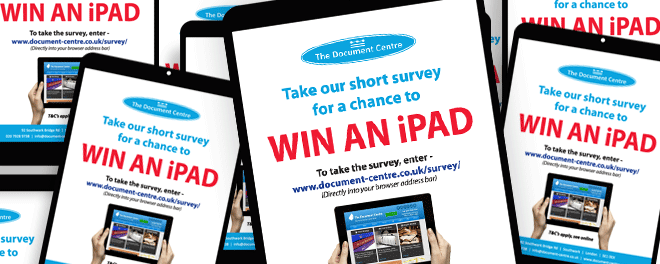 Your Chance to Win an iPad!