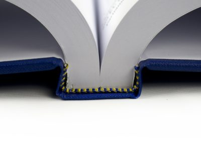 Hard Binding Spine with Headbands