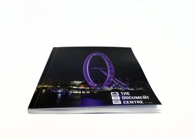 Perfect Bound with Gloss Laminated printed cover