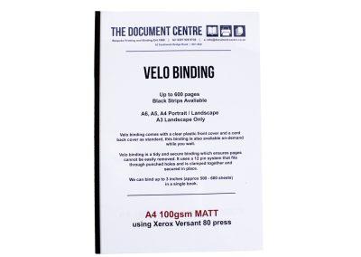 Velo Binding